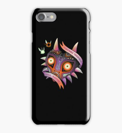 TERRIBLE MASK iPhone Case/Skin