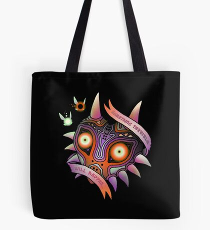 TERRIBLE MASK Tote Bag
