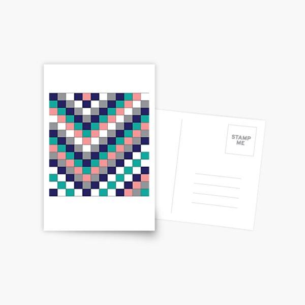 pattern, design, tracery, weave, ornament, decor, garniture, lace Postcard