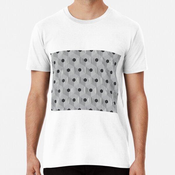 pattern, design, tracery, weave, ornament, decor, garniture, lace Premium T-Shirt