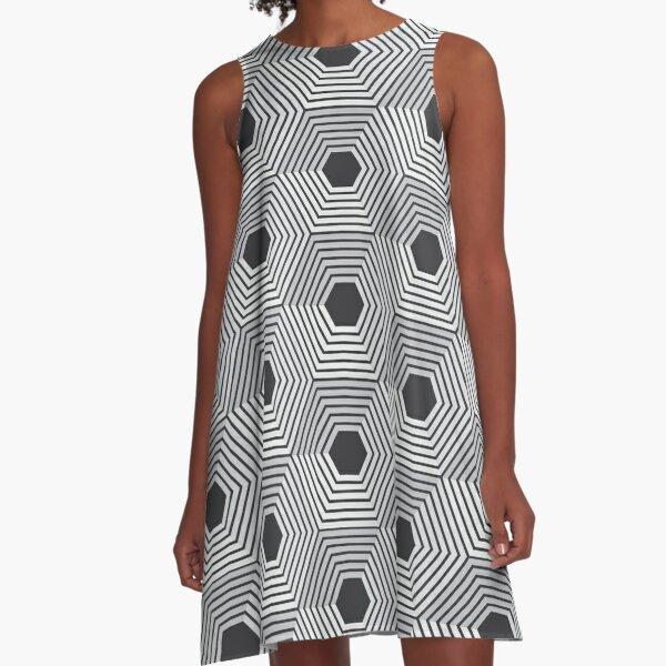 pattern, design, tracery, weave, ornament, decor, garniture, lace A-Line Dress