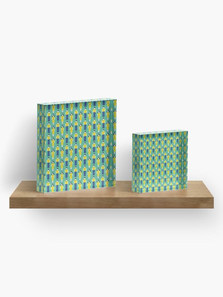 Alternate view of Digital Love Acrylic Block
