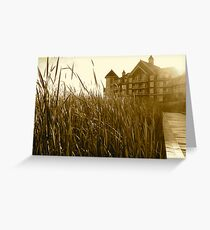 Bull Rushes Greeting Card