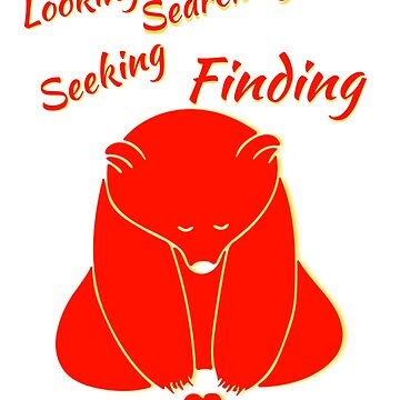 Looking Searching Seeking Finding Love by MoeDeesDotCom