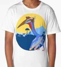 Pterosaur Sunset (Light Version) Long T-Shirt