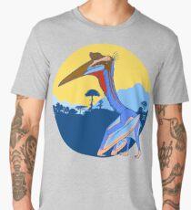 Pterosaur Sunset (Light Version) Men's Premium T-Shirt
