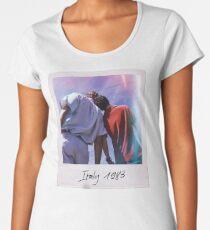 CMBYN Italy 1983 Polaroid Women's Premium T-Shirt