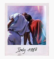 CMBYN Italy 1983 Polaroid Photographic Print