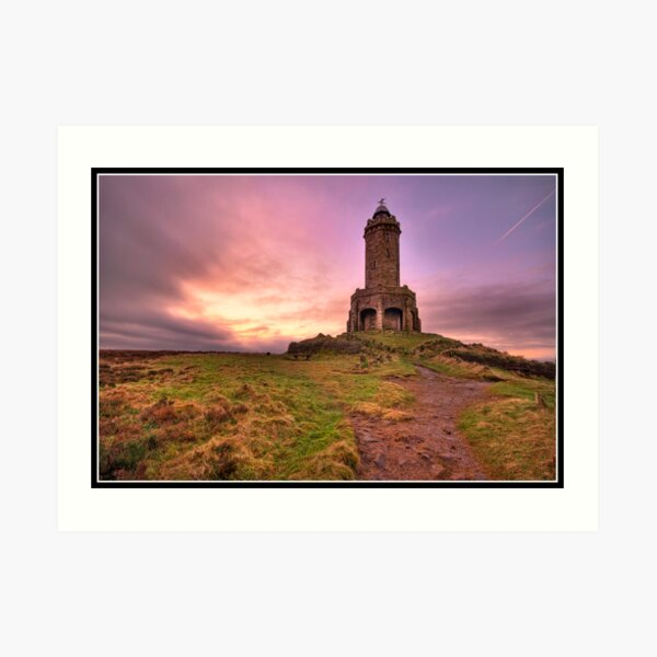 Darwen (Jubilee) Tower Art Print