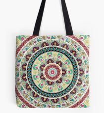Sloth Yoga Medallion  Tote Bag