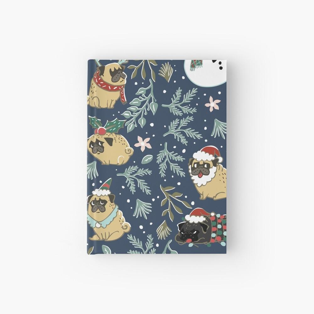 Weihnachtspugs Notizbuch
