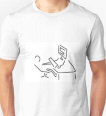 information scientist nerd computer Unisex T-Shirt