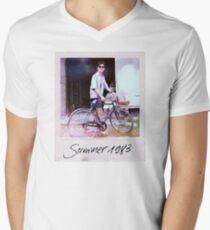 Elio Polaroid 1983 Men's V-Neck T-Shirt