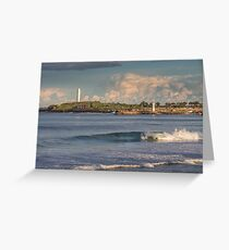 North Wollongong Beach Greeting Card