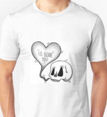 i'd bone u valentine Unisex T-Shirt