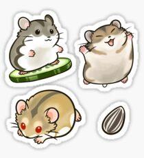 Dwarf Hamsters set 2 Sticker