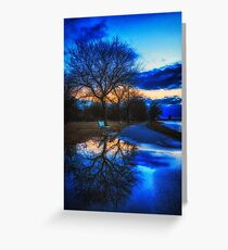 Cold Water View Greeting Card