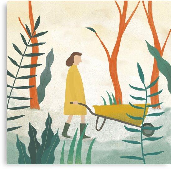 Wheelbarrow Girl by Holly Astle