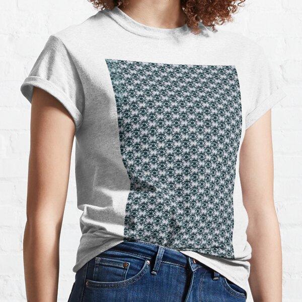 pattern, design, tracery, weave, ornament, decor, garniture, lace, узор, плетение, орнамент, декор, гарнитура, кружева Classic T-Shirt