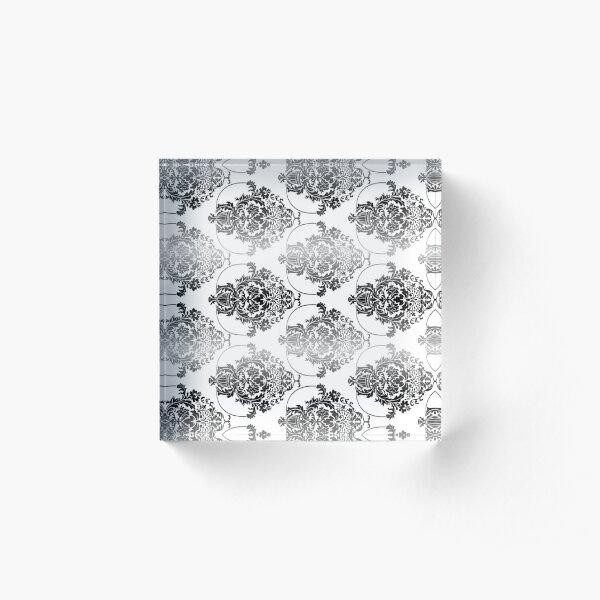 pattern, design, tracery, weave, ornament, decor, garniture, lace, узор, плетение, орнамент, декор, гарнитура, кружева Acrylic Block
