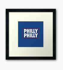 Philly Philly (Sixers) Framed Print