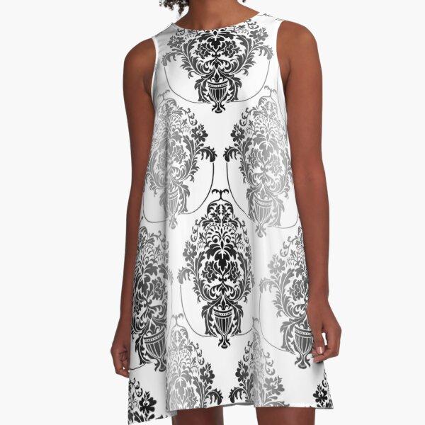 pattern, design, tracery, weave, ornament, decor, garniture, lace, узор, плетение, орнамент, декор, гарнитура, кружева A-Line Dress