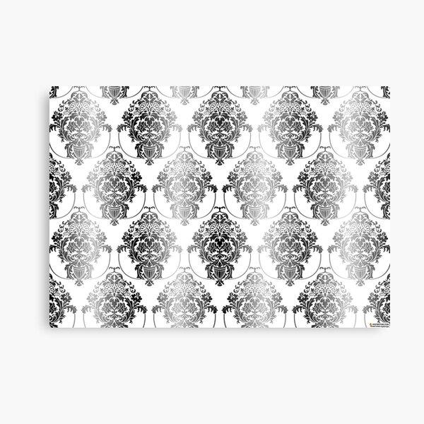 pattern, design, tracery, weave, ornament, decor, garniture, lace, узор, плетение, орнамент, декор, гарнитура, кружева Metal Print