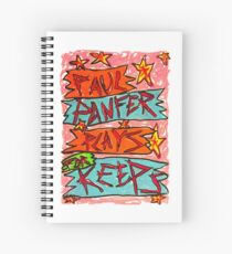 Paul Panfer Plays for Keeps Spiral Notebook