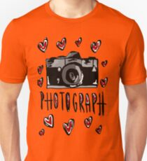 I love photograph Unisex T-Shirt