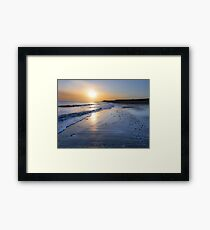 New Day  Happisburgh Beach Framed Print