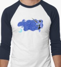 Nightmare Moon Baseball ¾ Sleeve T-Shirt