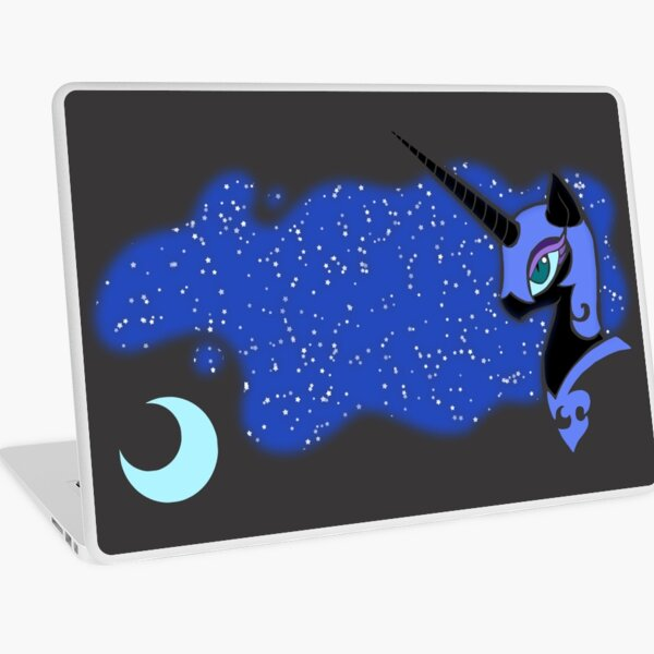 Nightmare Moon Laptop Skin