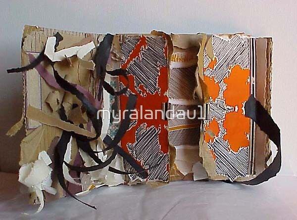 recycled book by myralandau1