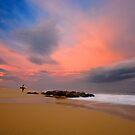 Between Storms at Rockpiles 2 by David Orias
