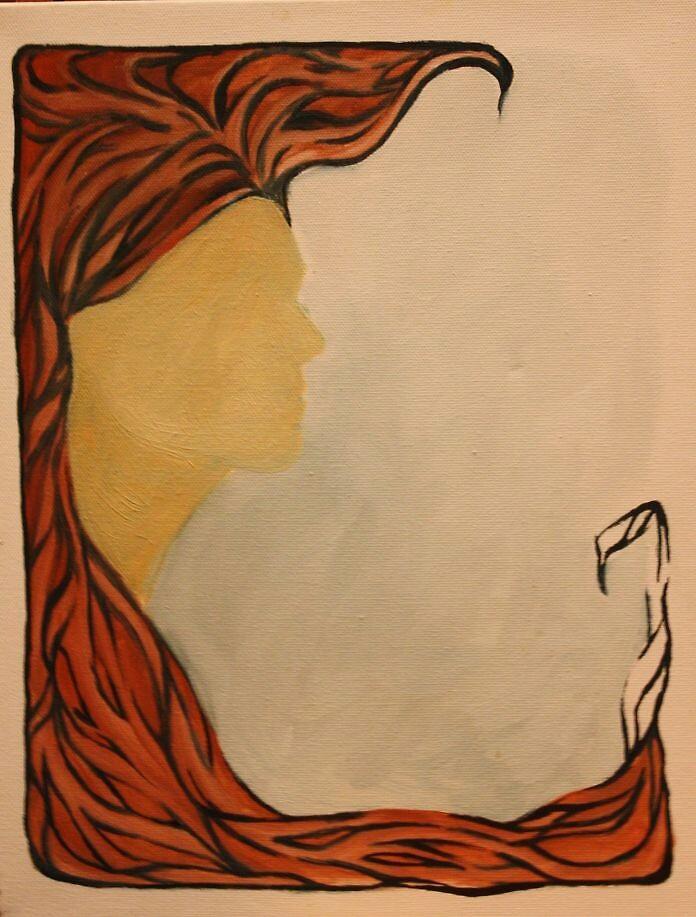 Art Nouveau Hair by oddbird