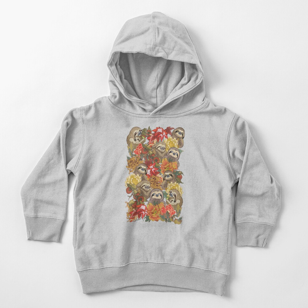 Because Sloths Autumn Toddler Pullover Hoodie