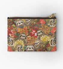 Because Sloths Autumn Zipper Pouch