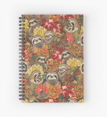 Because Sloths Autumn Spiral Notebook