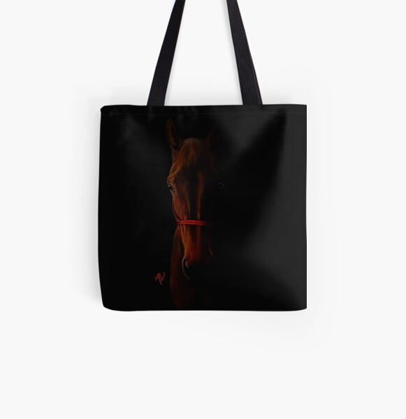 PillowPaws: Horse All Over Print Tote Bag
