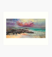 Harris Rocks Art Print