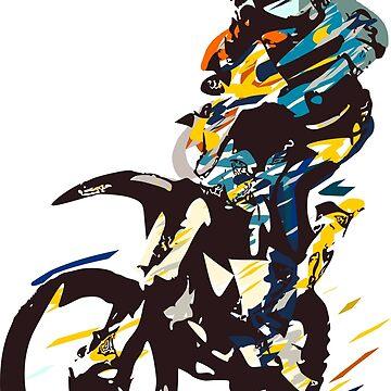 Motocross by Grobie