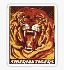 Siberian Tiger color Sticker