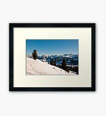 winter scenics Framed Print