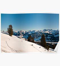 winter scenics Poster
