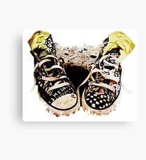 Kicks Canvas Print