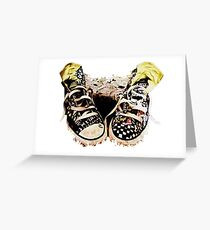 Kicks Greeting Card
