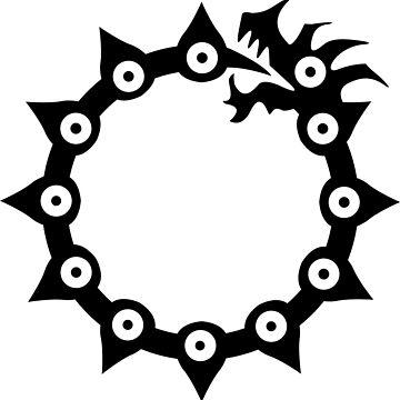 7 deadly sins - dragon by fogsdrakath