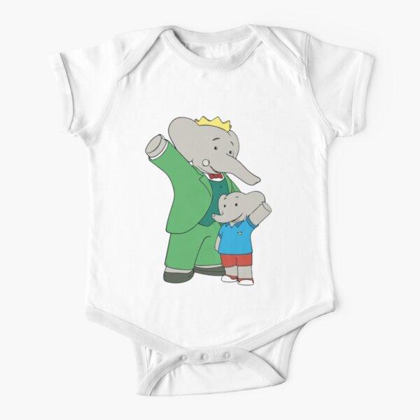 Babar the elephant Short Sleeve Baby One-Piece