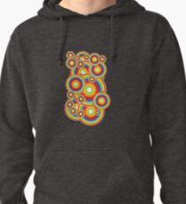 Sparkling Circles Pullover Hoodie