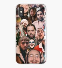 Post Malone Collage  iPhone Case/Skin